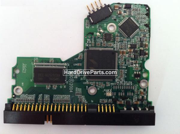 WD800JB Western Digital платы электроники жесткого диска 2060-001292-000