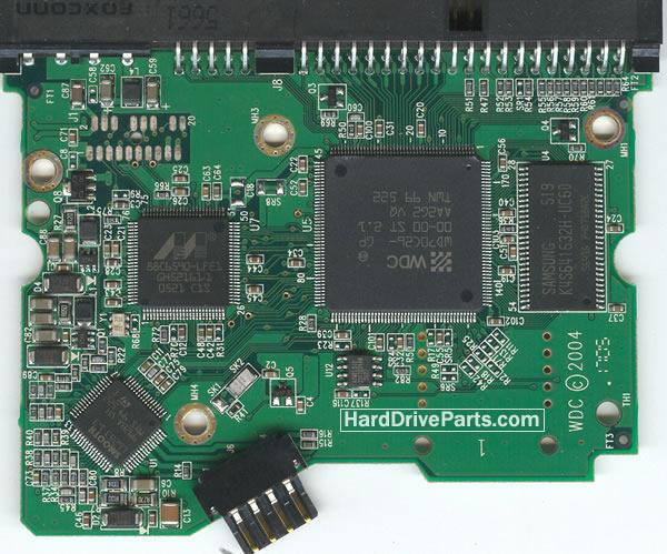 WD2000JB Western Digital платы электроники жесткого диска 2060-701266-001