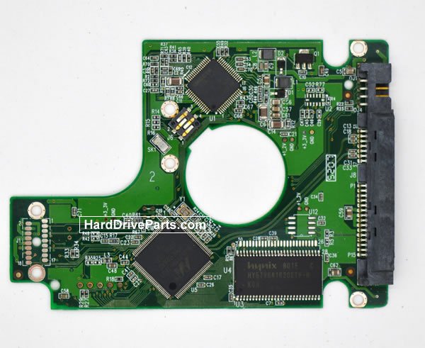 Western Digital WD800BEVS Circuit Board 2060-701450-011