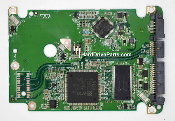 Western Digital WD800HLFS Circuit Board 2060-701543-003