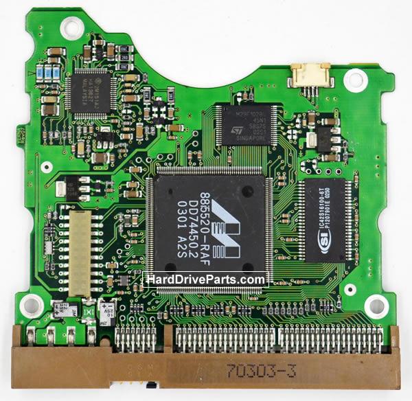 Samsung SV1204H контроллер жесткого диска BF41-00058A