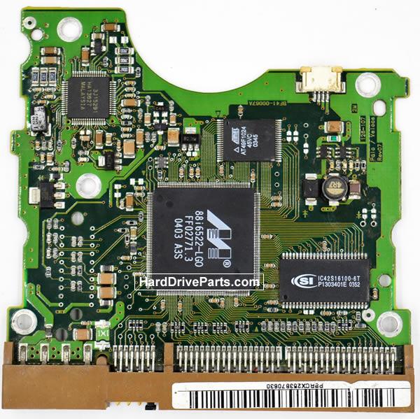 Samsung SP1604N контроллер жесткого диска BF41-00067A