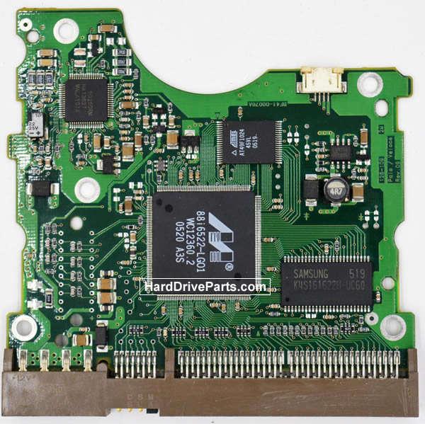 Samsung SP0802N контроллер жесткого диска BF41-00076A