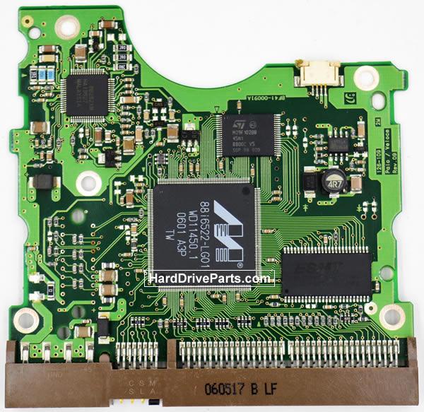 Samsung SP1604N/R контроллер жесткого диска BF41-00091A
