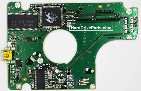 Samsung HM502JX контроллер жесткого диска BF41-00288A