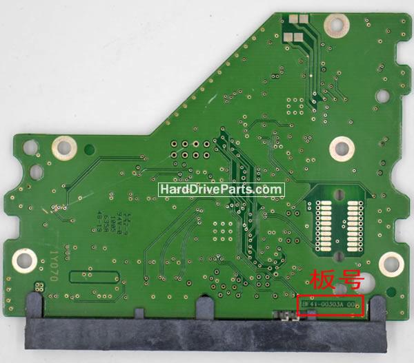 HD103SJ Samsung платы электроники жесткого диска BF41-00303A
