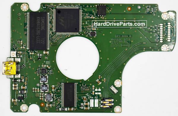 Samsung HN-M101XBB контроллер жесткого диска BF41-00365A