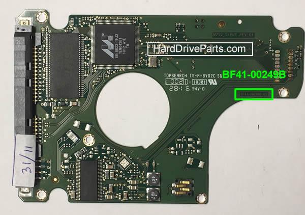 замена платы жесткого диска Samsung 2.5