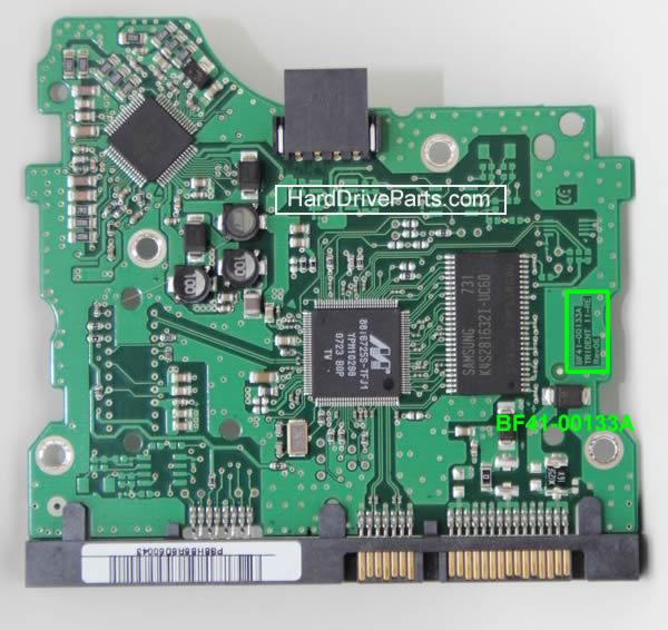 замена платы жесткого диска Samsung 3.5