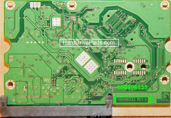 замена платы жесткого диска seagate barracuda 7200.10